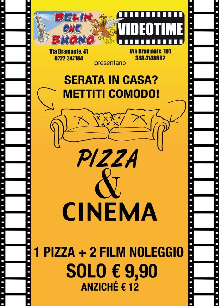 Pizza e cinema